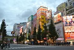 tokyo4536 (tanayan) Tags: road street urban japan tokyo town alley nikon cityscape akihabara j1 秋葉原 chiyoda 千代田区