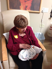 "Great Grandma Montopoli Holds Paul for the First Time • <a style=""font-size:0.8em;"" href=""http://www.flickr.com/photos/109120354@N07/10953548983/"" target=""_blank"">View on Flickr</a>"