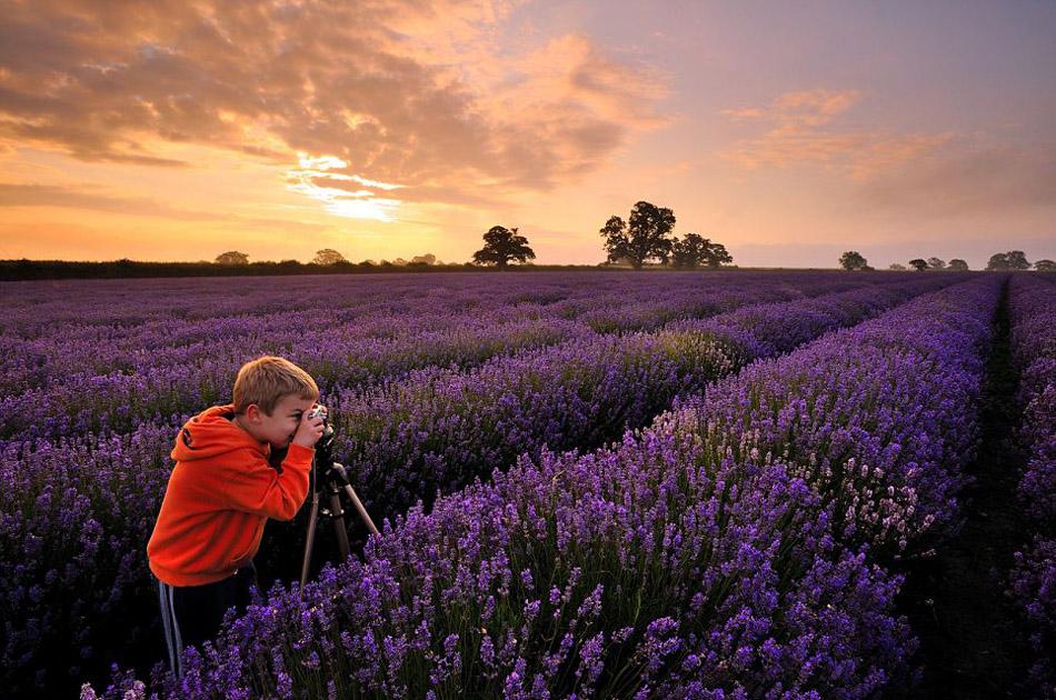 6岁小小摄影师奥利佛:天然去雕饰的风光作品