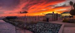 Practice Makes Perfect (mojo2u) Tags: california sunset coastguard bay harbor sandiego nikond800 nikon28300mm