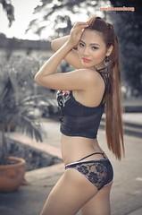 DSC_0637 (raelitocore) Tags: portrait woman beautiful beauty asian 50mm glamour nikon outdoor ambient d5100