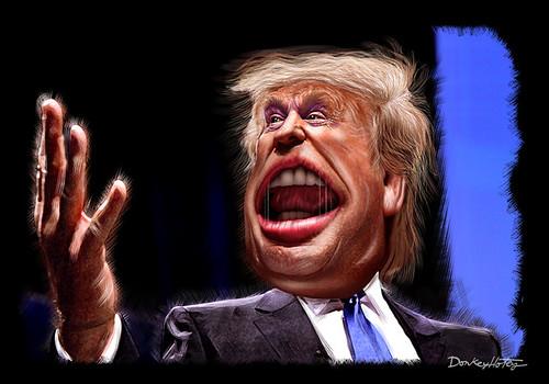 Donald Trump - Caricature (Painting)