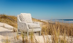 Norwalk - Safari Chair (Daniel Gray Photography) Tags: sky beach grass studio island photography coast sand nikon waves charlotte furniture dunes einstein north 8 raleigh coastal commercial figure carolina wilmington nikkor product eight parabolic plm d800 2470mm alienbees 28g strobist e640