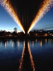 Hoge brug Maastricht (loungerrob) Tags: maastricht brug maas hoge kerst hogebrug kerstlicht