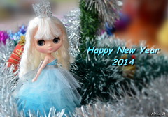 Melody come to say Happy New Year