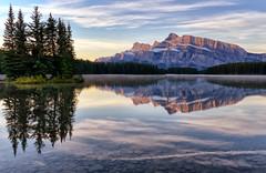 Clear Morning at Two Jack Lake (Jeff Clow) Tags: banff albertacanada banffnationalpark canadianrockies twojacklake ©jeffrclow banffphototour jeffclowphototours