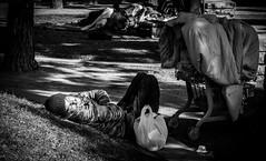 """Sleepin' Shadez"" - 1/14 (aaronjurrr) Tags: park sleeping san downtown sleep homeless hill diego stuff"