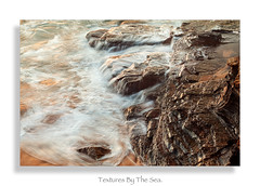 Textures By The Sea. (shannon sakovits.) Tags: red sea colour water rocks sydney textures northernbeaches warriewood shannonsakovits