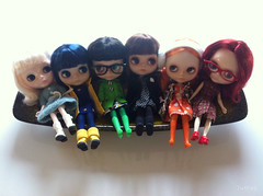 Renée, Coraline, Colette, Janne, Bo and Martha