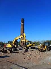 Bocm site (seanofselby) Tags: chimney site jcb diggers barby selby bocm