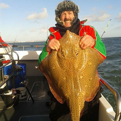 "Brian Moss with a 31lb Blonde Ray • <a style=""font-size:0.8em;"" href=""http://www.flickr.com/photos/113772263@N05/12150265633/"" target=""_blank"">View on Flickr</a>"