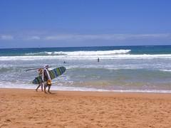 Surfing... Sydney Northern Beaches. (IAGD+P) Tags: blue beach beautiful surf sydney boogie blueskies fires northernbeaches