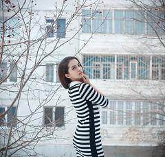 (Anne Cherry) Tags: winter portrait selfportrait me beauty face fashion self canon hair 50mm model eyes dress like lips 1100d