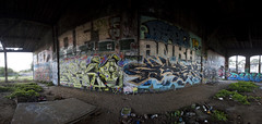 pano (eb78) Tags: sf sanfrancisco california ca graffiti bayarea bayshore roundhouse