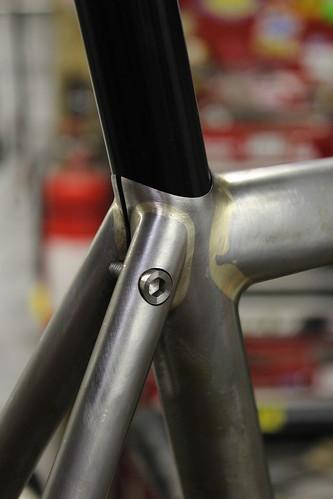 Fillet brazed road bike