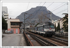 SNCF 67346 - Grenoble - 738035 (14-02-2014) (Vincent-Prins) Tags: grenoble rrr sncf bb67300 67346 738035