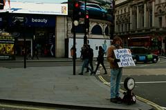 Sarah Brightman wanted (milovanov) Tags: street london sarah canon 28mm 7d picadillycircus inlove brightman