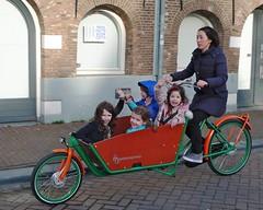 WorkCycles-Kr8-Green-Orange 11 (@WorkCycles) Tags: new family amsterdam bike bicycle kids familie kinderen bikes cargo crate fietsen westerpark jordaan fiets nieuwe cargobike vervoer fr8 bakfiets tweewieler krate transportfiets workcycles kr8