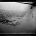 Port Said & Canal Zone. Port Said. Air view, looking northward to the sea