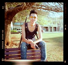 Toowoomba, Sep 2012 (L G Walker) Tags: street portrait 120 rolleiflex asian kodak australia queenspark qld epson mx toowoomba automat ektar 35b v700