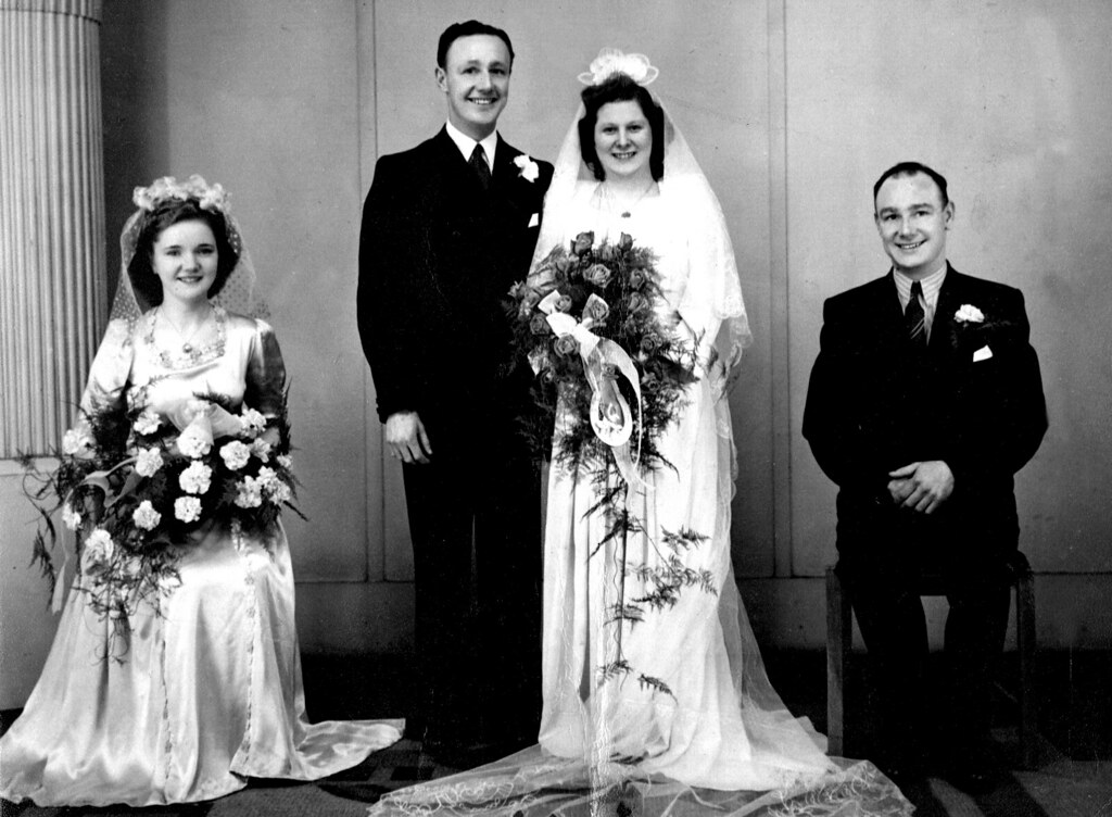 Tom and Jean Wilson and Ruby Smith 1950s