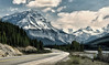 A Bend in the Road (Jeff Clow) Tags: travel vacation holiday mountains albertacanada roadway banffnationalpark icefieldsparkway ©jeffrclow banffphototour jeffclowphototours