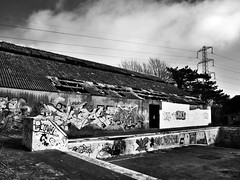Chillin' Poolside (Lara Woolley) Tags: old building abandoned southwales forgotten barry decayed stathan boysvillage