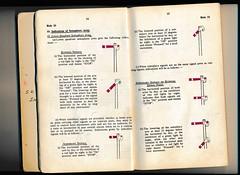 Kenya Railways General Rules 1968 (Mark Vogel) Tags: africa railroad train kenya eisenbahn railway ear kr signal signaux chemindefer signale rulebook eastafricanrailways kenyarailways eisenbahnsignal operatingrules signalchart signaldiagram signalaspects signalbilder