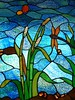 Mount Dora, FL, Stained Glass Window (Mary Warren 10.3+ Million Views) Tags: blue glass florida stainedglass mountdora abigfave citrit
