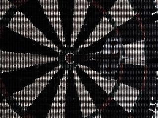 #CrazyCamera dartboard
