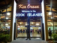 """Kia Orana"", Rarotonga Airport (Noble Silence) Tags: southpacific cookislands rarotonga pacificislands tropicalparadise rarotongaairport airportsaroundtheworld"