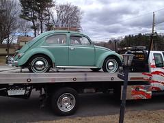 Brake failure. (63vwdriver) Tags: vw vintage bug volkswagen beetle master cylinder 1963 uploaded:by=flickrmobile flickriosapp:filter=nofilter