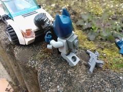 Persuing the special, part eighteen (okoe74) Tags: movie lego batman swat robo executron