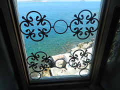 window (Bichoes) Tags: nisyros dodekanse aegean mandraki spiliani monastery knights castle greece