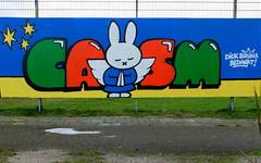 Casm - Schollevaar (oerendhard1) Tags: graffiti streetart urban art rotterdam schollevaar dick bruna nijntje casm