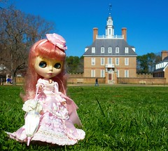 A Victorian Lady in Colonial Williamsburg