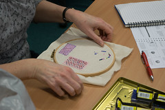 DSC_0730 (surreyadultlearning) Tags: embroidery sewing adulteducation surrey camberley art craft tutor uk painting calligraphy photography