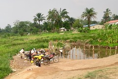 "Motorbike washing in Sanniquellie. Liberia  March 2017 #itravelanddance • <a style=""font-size:0.8em;"" href=""http://www.flickr.com/photos/147943715@N05/32823164794/"" target=""_blank"">View on Flickr</a>"
