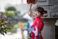 DSC_0043 (kueichi) Tags: 人 人像 戶外 點點 和服