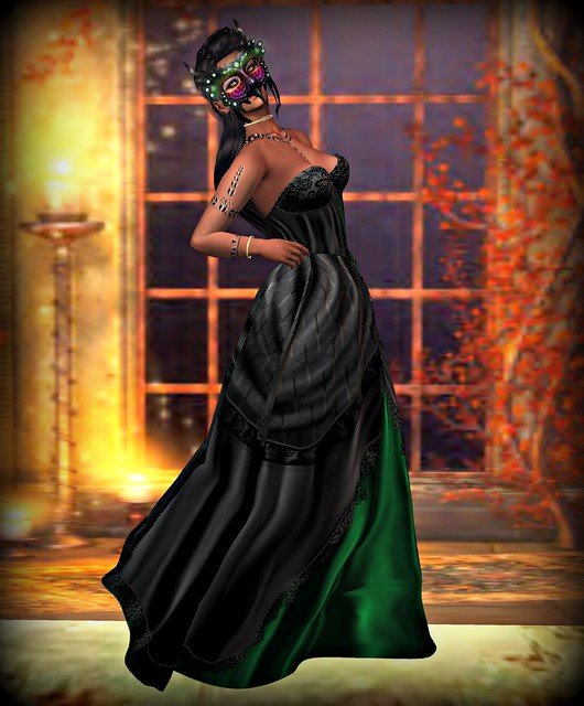 Mystery Belle of the Ball +FCC+ Anabelle gown & Laudanum Lolllipops - Ember's Mask Greater