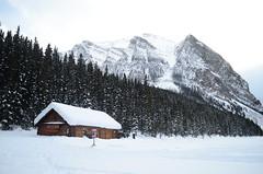 a little house (wanka12222221) Tags: canada alberta banff rockies rockymountain lakelouise house wood mountain