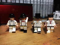 There Was Me, That Is, Alex . . . (LordAllo) Tags: lego a clockwork orange alex delarge anthony burgess