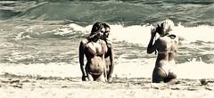 A Kodak Moment (Professor Bop) Tags: professorbop drjazz olympussh50 delraybeachflorida women females beach ocean photograph photography people seashore mosca