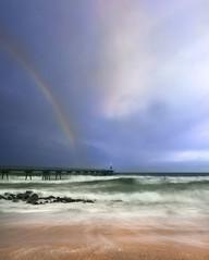 Dia lluvioso. (Ramirez de Gea) Tags: lluvia arena tokinaaf1224mmf4 marina playa arcoiris