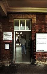 The Oakham Railers.  Explored. 15-03-2017. (-Metal-M1KE-) Tags: oakham oakhamstation crosscountry station public man railway ticketoffice travellingpublic nwobrp