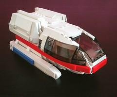 Type 6 shuttlecraft from Star Trek TNG in minifig scale (LEGO_MOCkingJ) Tags: lego moc startrek tng shuttle shuttlecraft scifi space