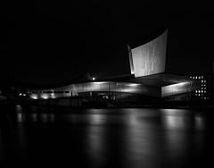 Imperial War Museum, Salford Quays (J Walton) Tags: longexposure salfordquays nightphotography