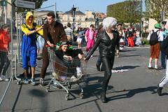 IMG_3944 (leroux.maximilien62) Tags: caen france normandie normandy calvados carnaval costume cec20 carnival karneval fur fourrure peluche chariot vinyl bottes boots stiefel pvc