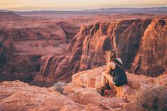 silence (Robbi_An) Tags: usa arizona canyon horseshoebend glencanyon grandcanyon sony a7 zeiss 55mm fe f18 18 sonnartfe1855 nature people carlzeiss dreaming sonya7