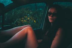 in the car (gorbot.) Tags: leicam8 voigtlander28mmultronf19 vscofilm vsco roberta sicily sicilia portrait